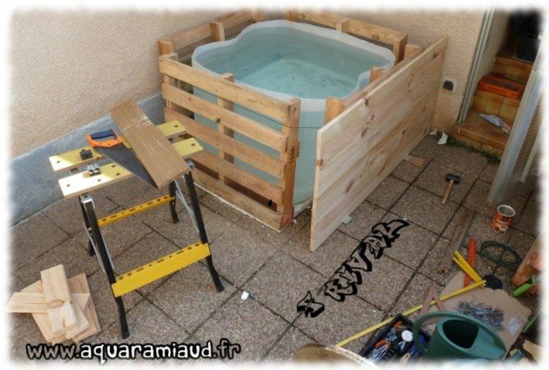 Top Bassin hors-sol: exemple de construction. - Astuces et bricolage  TP04