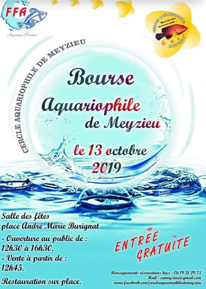 Bourse Cercle Aquariophile de Meyzieux