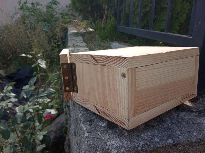Coffre-fort en bois pour enfants