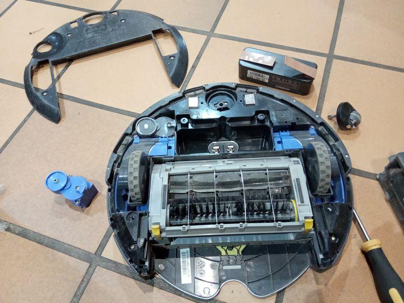 Réparer son roomba version 600 ou 700