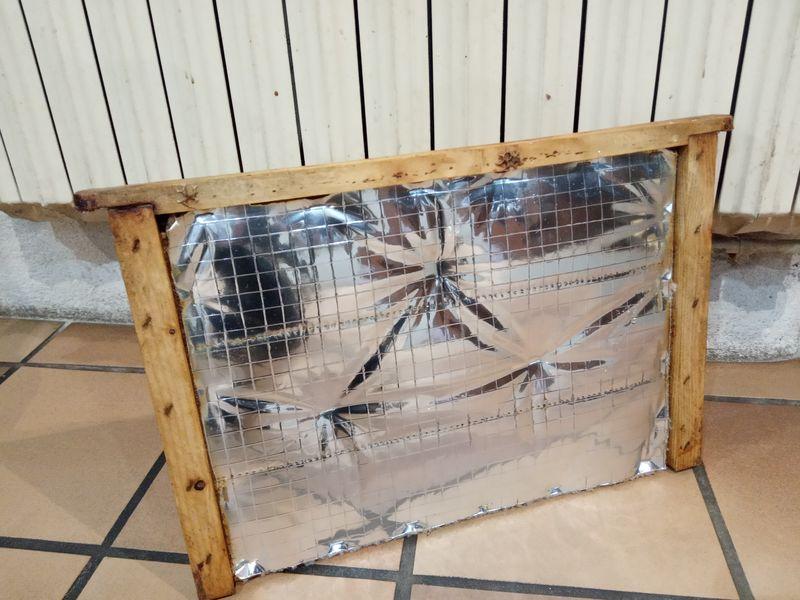 partition isolante réfléchissante classique du commerce apicole