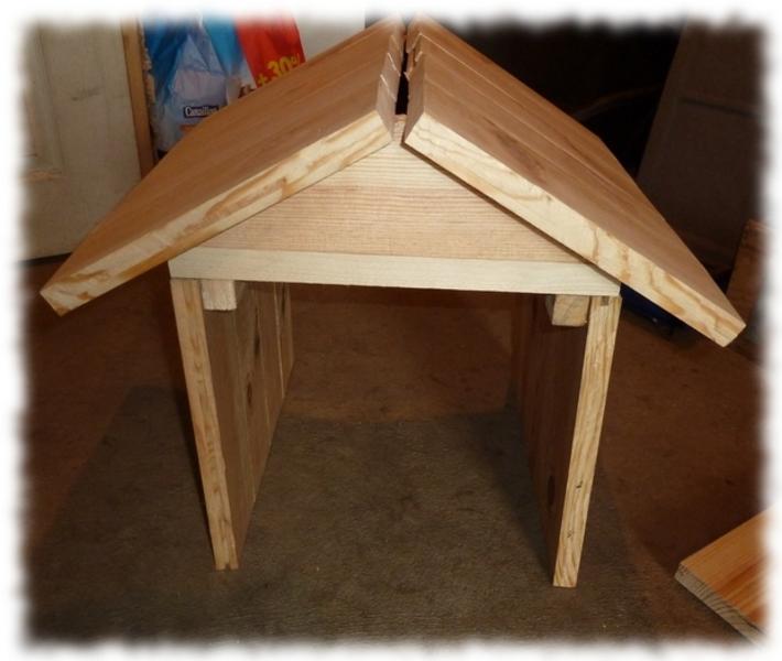 Boite Aux Lettres En Bois A Decorer : Construction: habillage en bois pour une bo?te aux lettres – Autres